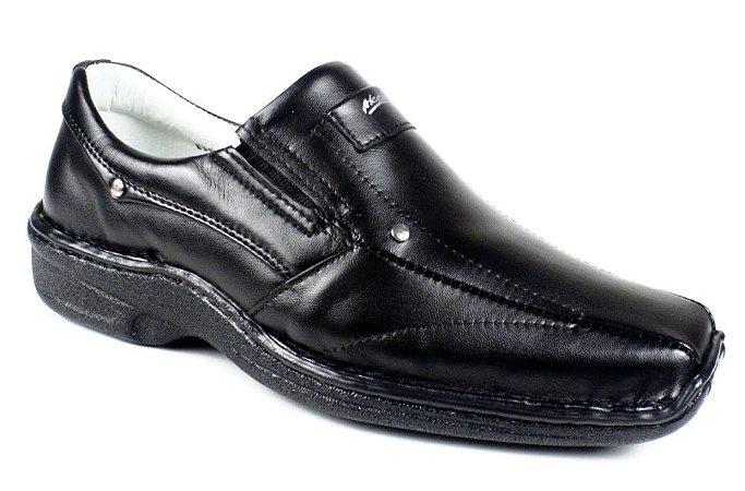 Sapato Preto Meriva Relax Confort