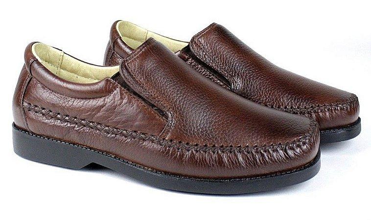 Sapato Casual Masculino Preto ou Marrom Confort