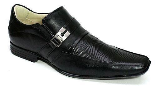 Sapato Preto ou Marrom Social Masculino