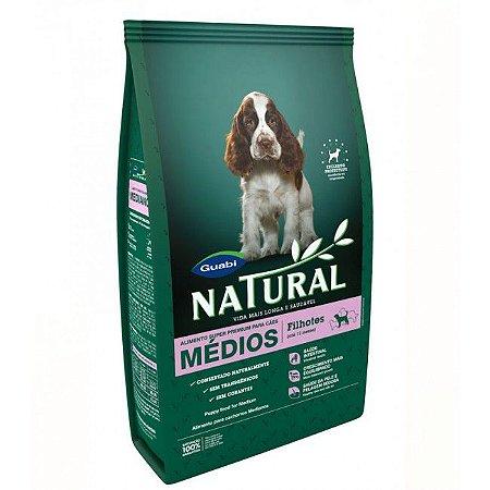 Ração Guabi Natural para Cães Filhotes Porte Médio 15 Kg