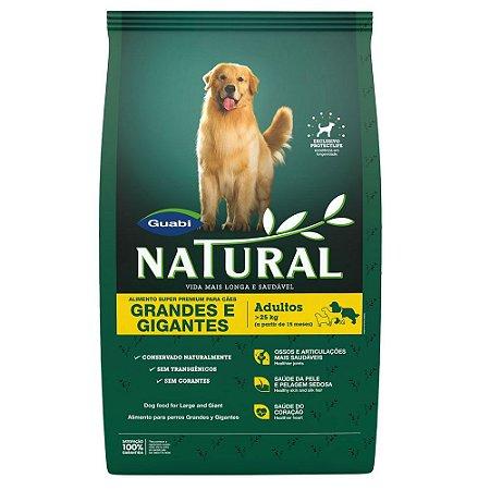 Ração Guabi Natural Cães Adultos Raças Grandes e Gigantes 15 Kg