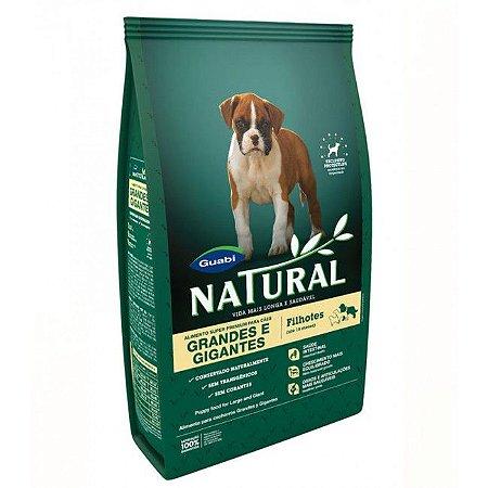 Ração Guabi Natural para Cães Filhotes Porte Grande e Gigante 15 Kg