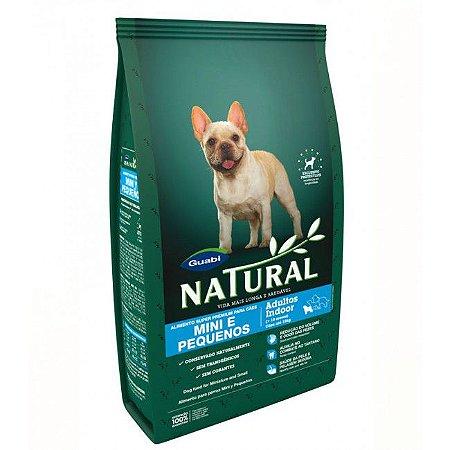 Guabi Natural Cães Adultos Indoor Raças Mini e Pequenas