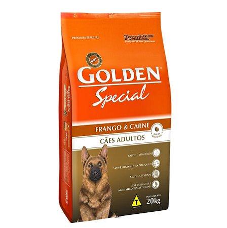 Golden Special Cães Adultos Frango e Carne - 15 kg