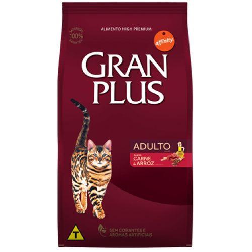 Gran Plus Premium Especial Carne e Arroz Gatos Adulto 10 kg