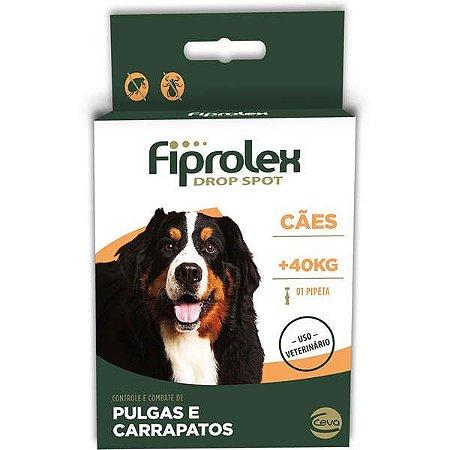 Anti Pulgas e Carrapatos Fiprolex Cães Acima de 41  kg