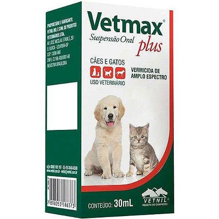 Vermífugo Vetmax Plus Suspensão 30 ml