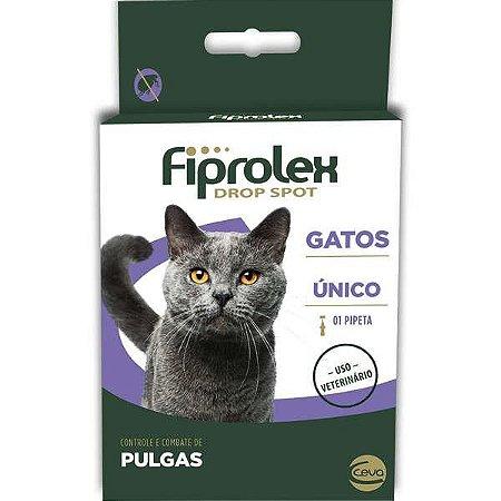 Anti Pulgas e Carrapatos Fiprolex Gatos
