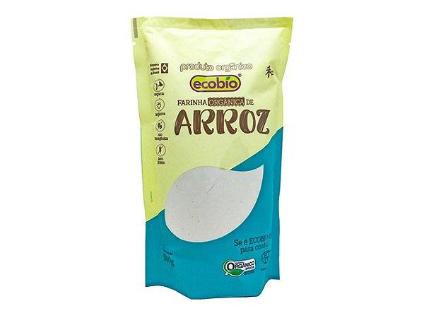 Farinha de Arroz Orgânico 500mg - Ecobio