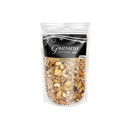 Granola Premium Amêndoa Zero Açúcar 250g - Granuta