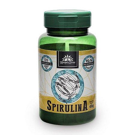 Spirulina 120 comprimidos 400mg - Kampo de Ervas