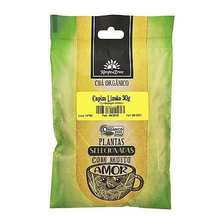 Chá de Capim limão Orgânico 30g  - Kampo de Ervas