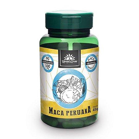 Maca Peruana em Cápsulas - 90 caps de 500mg - Kampo de Ervas