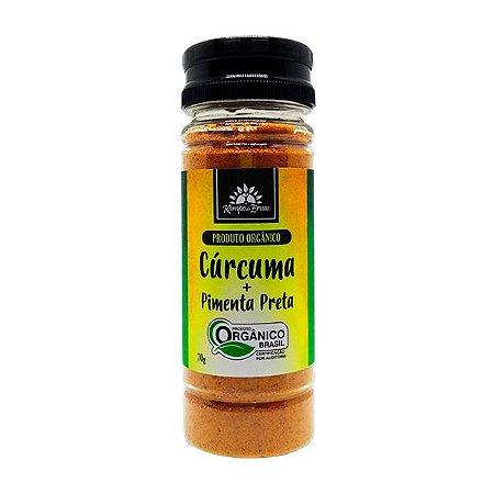 Cúrcuma com Pimenta Preta orgânica 70g - Kampo de Ervas