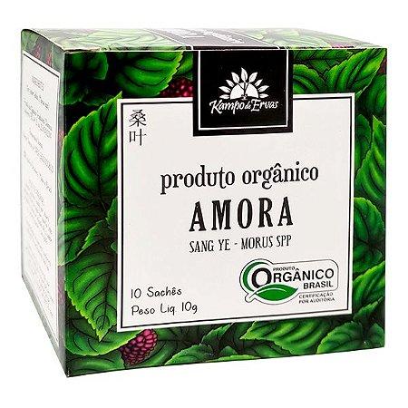 Chá de Amora Orgânico (10  Saches) - Kampo de Ervas