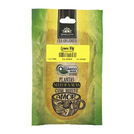 Chá Guaco Orgânico 30g - Kampo de Ervas