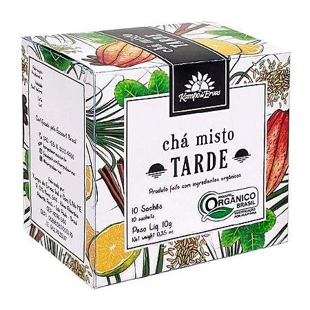 Chá Misto Tarde Orgânico Sachê (10 unid.) - Kampo de Ervas