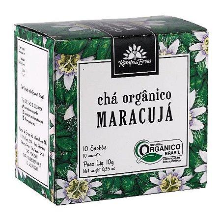 Chá Maracujá Orgânico Sachê (10 unid.) - Kampo de Ervas