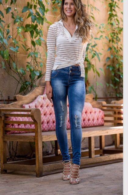 Calça Skiiny Jeans Feminina