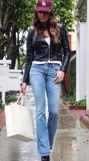 Calça Jeans Reta Feminina