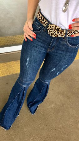 d702b108e Calça jeans Flare Feminina - Loja Bastiana - Roupas e Acessórios