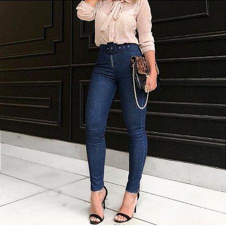 Calça Jeans Skinny Feminina escura