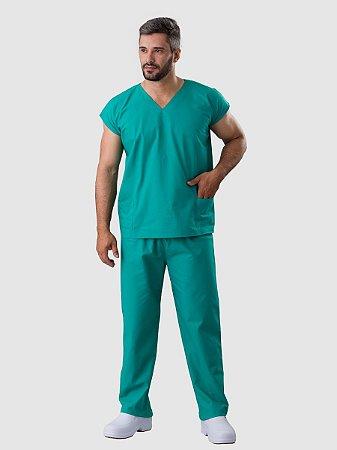Pijama Cirúrgico Unissex Verde