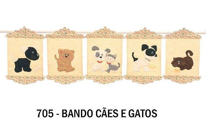 Projeto Bandô cães e gatos