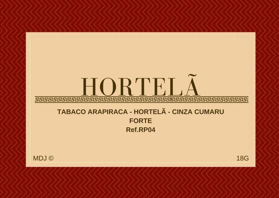 Rapé de Hortelã com Arapiraca