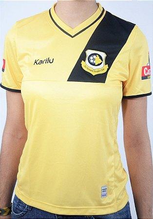 Camisa Feminina Amarela 2017