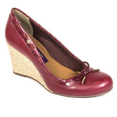 Sapato Boneca Burgundy (Cravo e Canela)