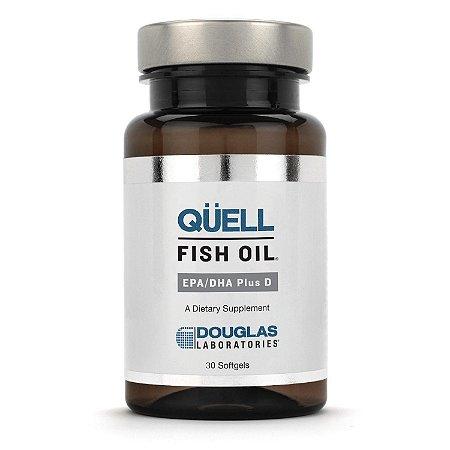 Óleo de Peixe QÜELL® EPA/DHA Plus com Vitamina D Douglas Labs (30 caps)
