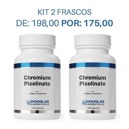KIT 2 Picolinato de Cromo (2 frascos de 100 cápsulas cada)
