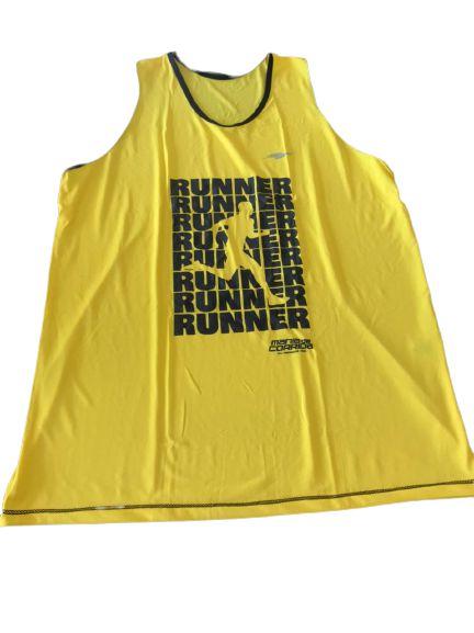 Regata Runner Amarela - Mania de Corrida