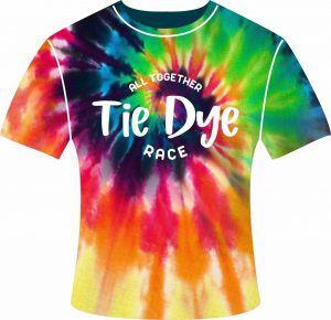 Camiseta Tie Dye Race Colorida Sublimada Sintética