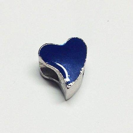 Berloque Coração Azul