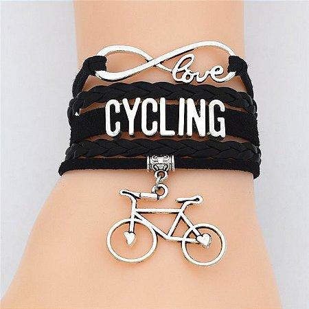 Pulseira Cycling Preta
