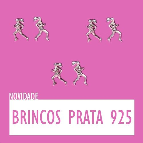 BRINCO CORREDORA MICRO EM PRATA 925 ( 9 mm x 5 mm)