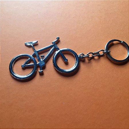 Chaveiro Bike Cromado