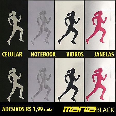 Adesivo Vinil Corredora (5 cm x 3 cm) - MANIA BLACK