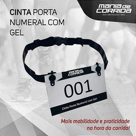 Cinto Porta Numeral Corredor c/ Porta Gel
