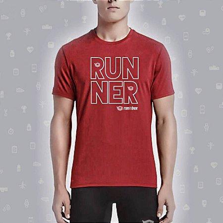 Camiseta RUNINBOX Runner Vermelha