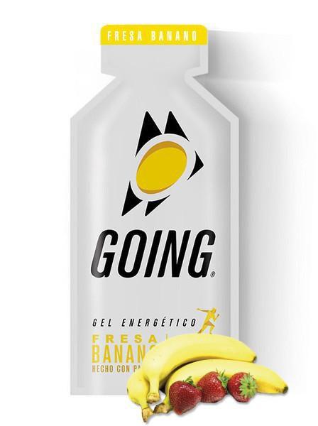 Gel Energético Going - Sabor Banana e Morango 33g