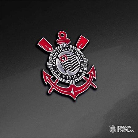 Adesivo CROMADO - Escudo Oficial Corinthians