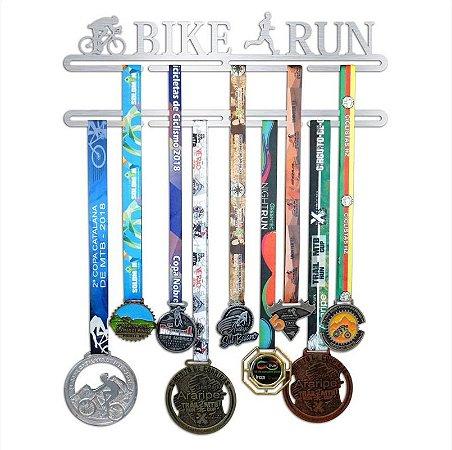 Porta Medalhas Bike Run Masculino