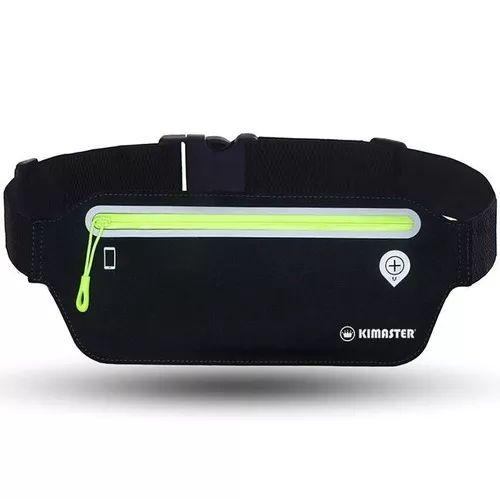 Pochete Esportiva Ultra Slim Impermeável Para Celular Até 6.3 Polegadas Ar80 Preto