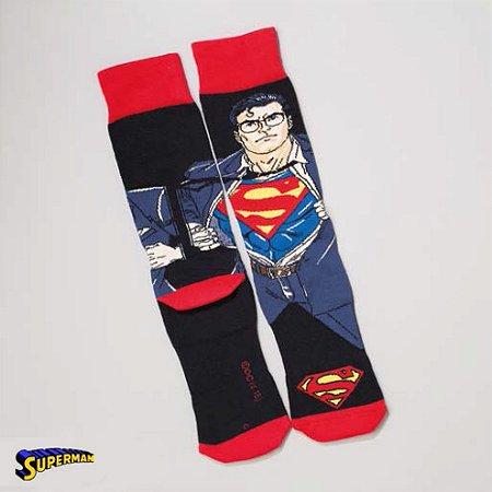 Meia Lupo Urban Superman - Produto Licenciado