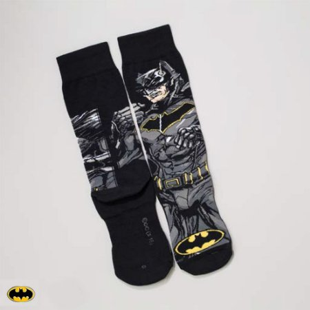 Meia Lupo Urban Batman - Produto Licenciado