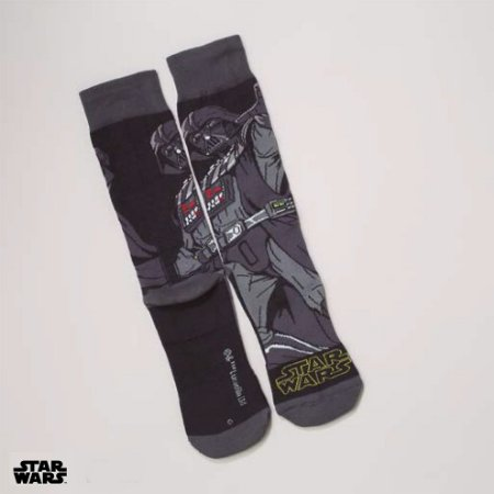 Meia Lupo Urban Darth Vader - Produto Licenciado