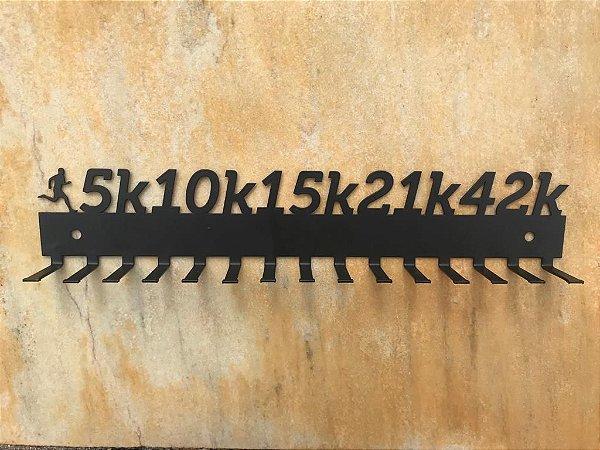Porta Medalhas Quilometragens Masculino - 15 ganchos